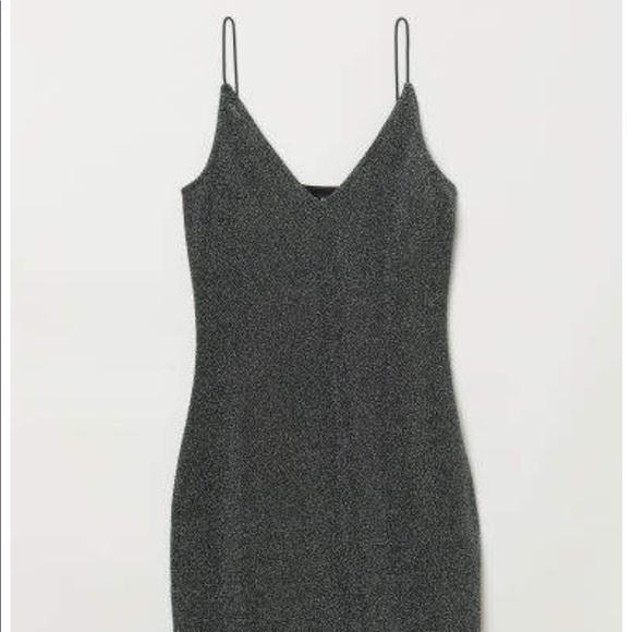 H&M Dresses & Skirts - H&M Black / Silver Sparkel